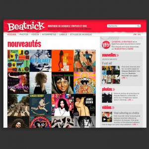 Boutique web Beatnick