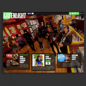 Boutique web Greenlight